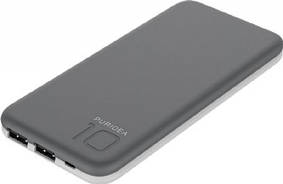 Puridea Powerbank S2 10000mAh Γκρι