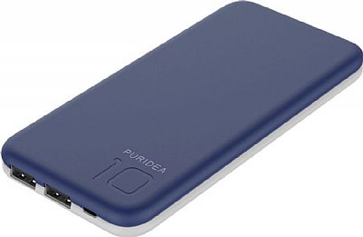 Puridea Powerbank S2 10000mAh Μπλε