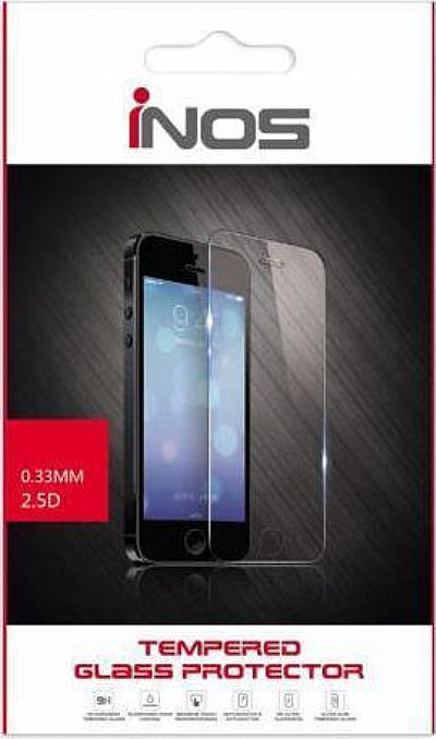Tempered Glass Full Face inos 0.20mm Apple iPhone 7 Plus 3D Stainless Steel Λευκό