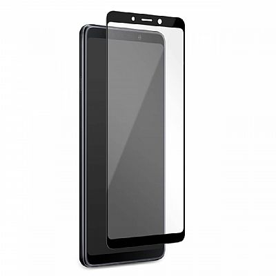 Puro Tempered Glass with Black Frame Samsung A9 Μαύρο