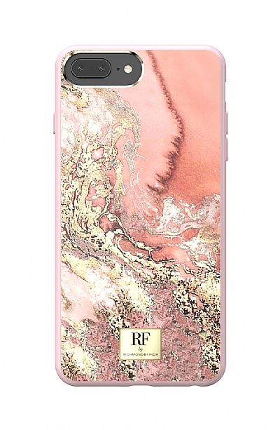 Richmond & Finch Pink Marble Gold iPhone 6 Plus / 6S Plus / 7 Plus / 8 Plus