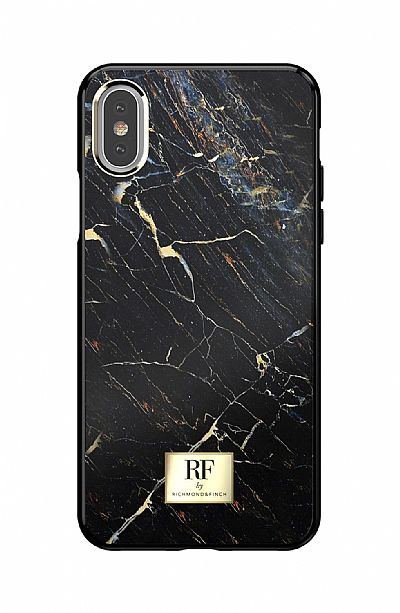 Richmond & Finch Black Marble iPhone X / XS