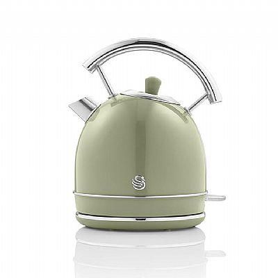 Swan Retro 1.8 Litre Dome Kettle – Πράσινο