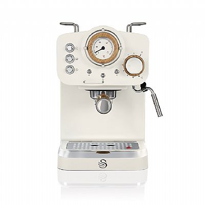 Swan Pump Espresso Coffee Machine - Aσπρο