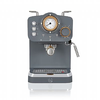 Swan Pump Espresso Coffee Machine – Γκρι